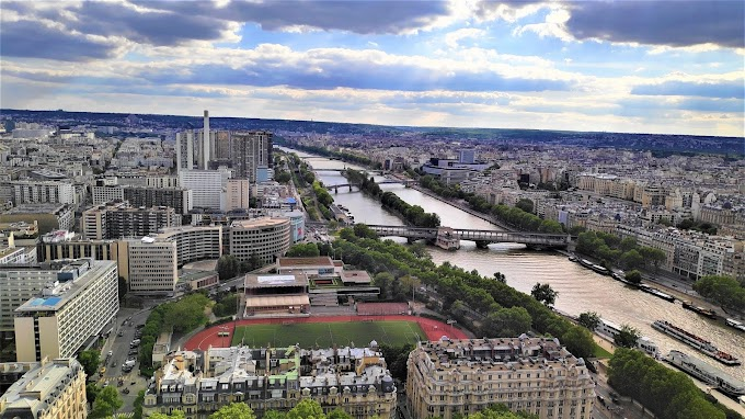 Paris Bird View