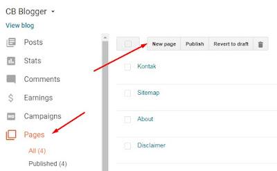 Cara Membuat Halaman Daftar Isi (Sitemap) Blog Berdasarkan Tanggal Publikasi