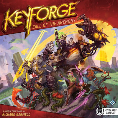Keyforge Call Of The Archons Recensioni Video Unboxing Su