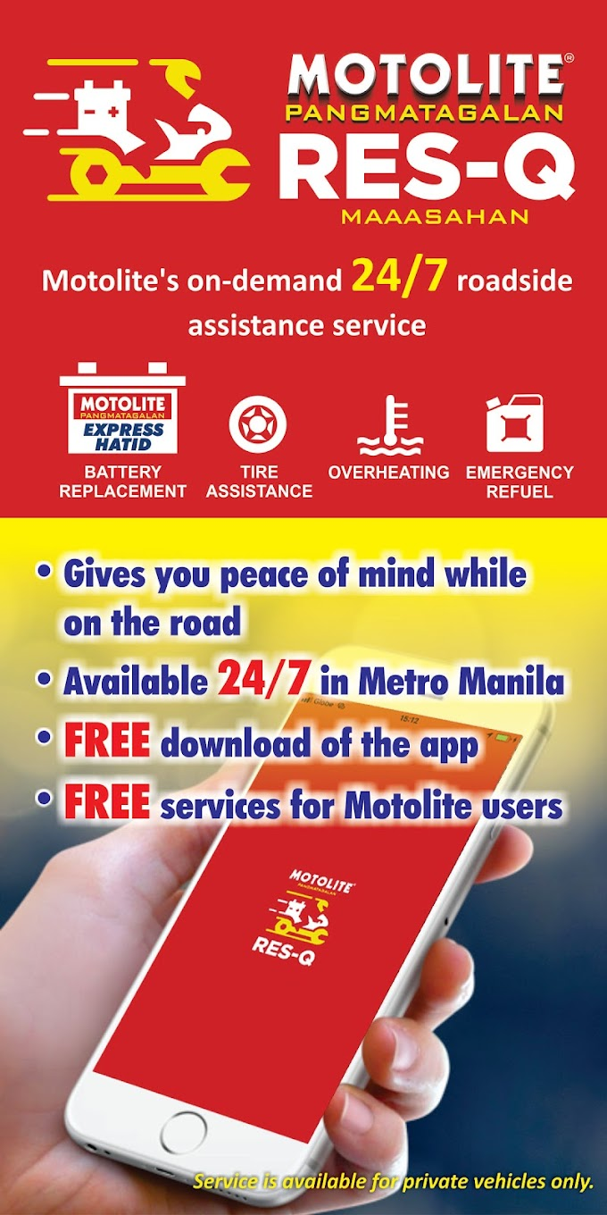A trusted road assistance app launched, Motolite RES-Q app!