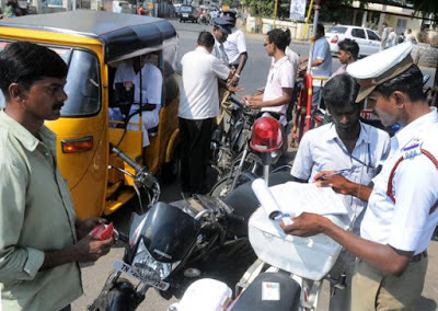Indore Traffic Police Fine