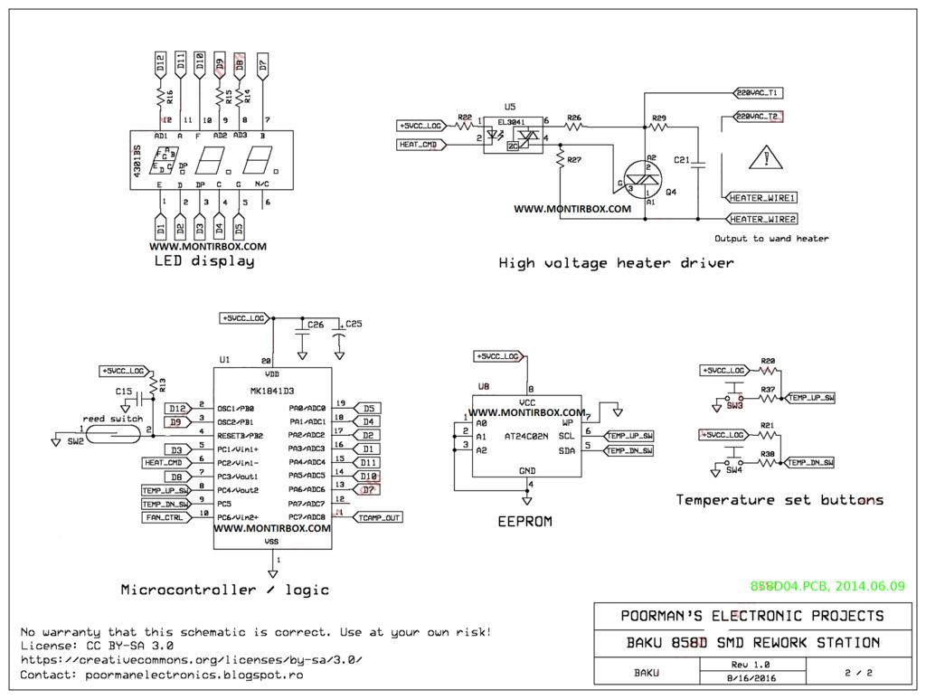 Rangkaian solder uap
