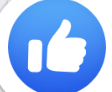 The FB like symbol for teachers to check for understanding while teaching