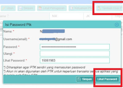 login dan cek info GTK dapodik 2021 2022