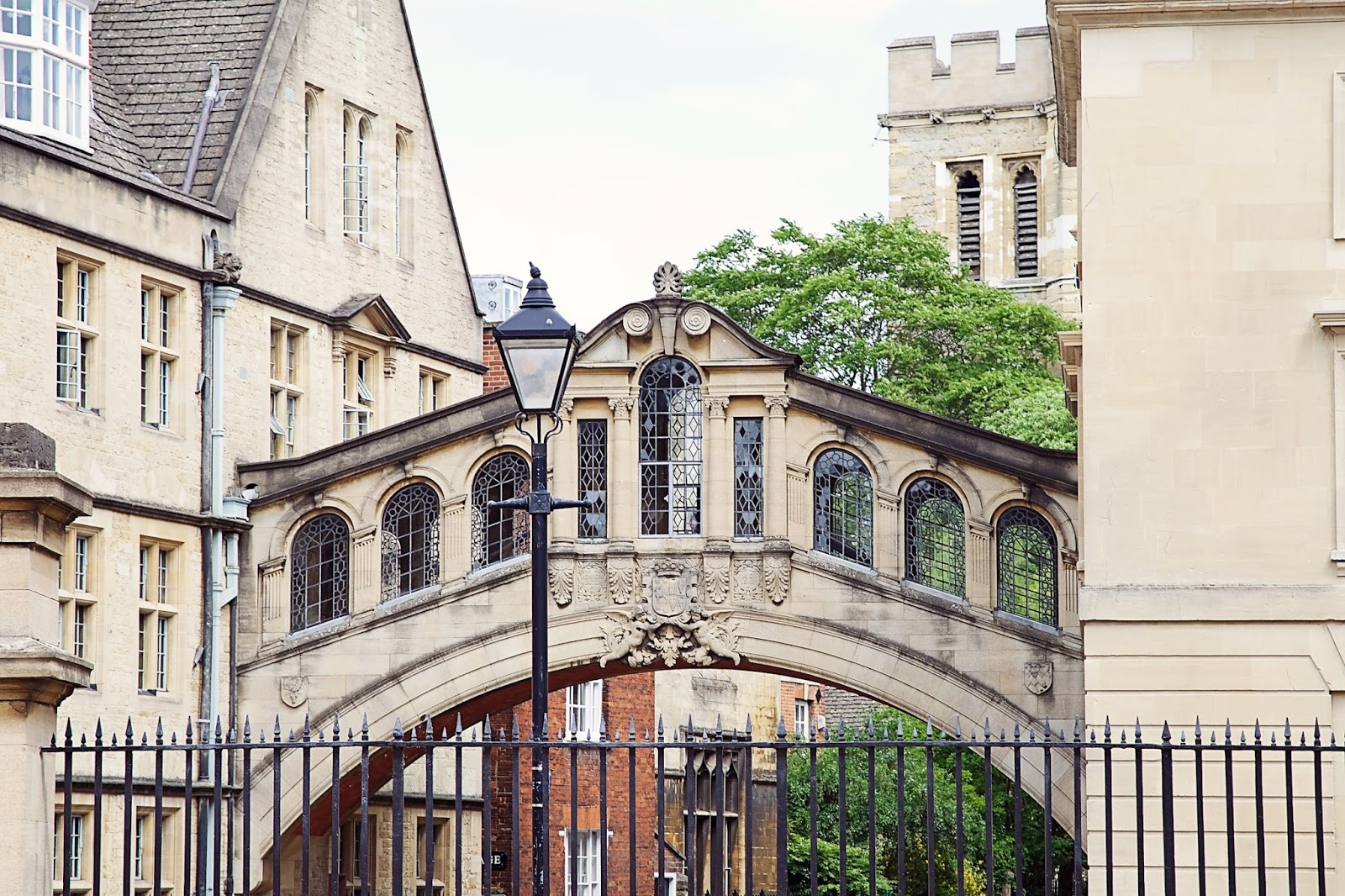 Bridge of Sighs at Oxford University