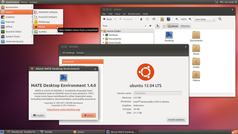Mate Desktop Ubuntu