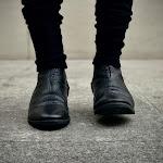 Walker Spiral zip boots 822z