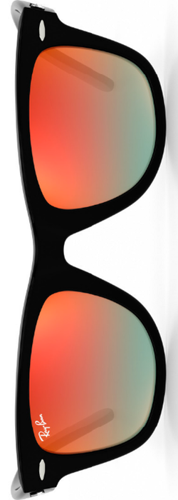 Ray-Ban Original Wayfarer Orange Gradient Flash