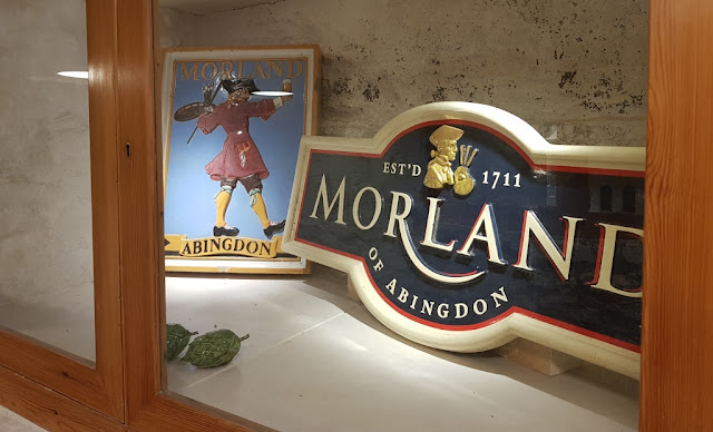 Morland Brewery Plaque and Sign