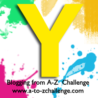 Y is for Yellow #AtoZChallenge