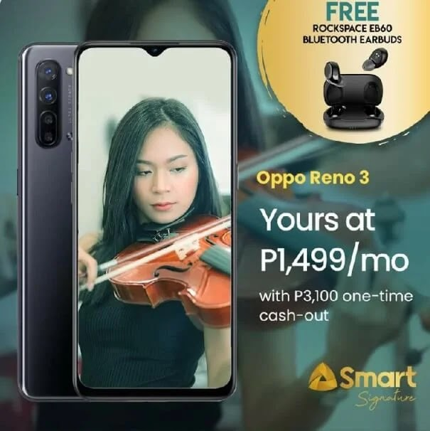 OPPO Reno3 Now Available at Smart Postpaid