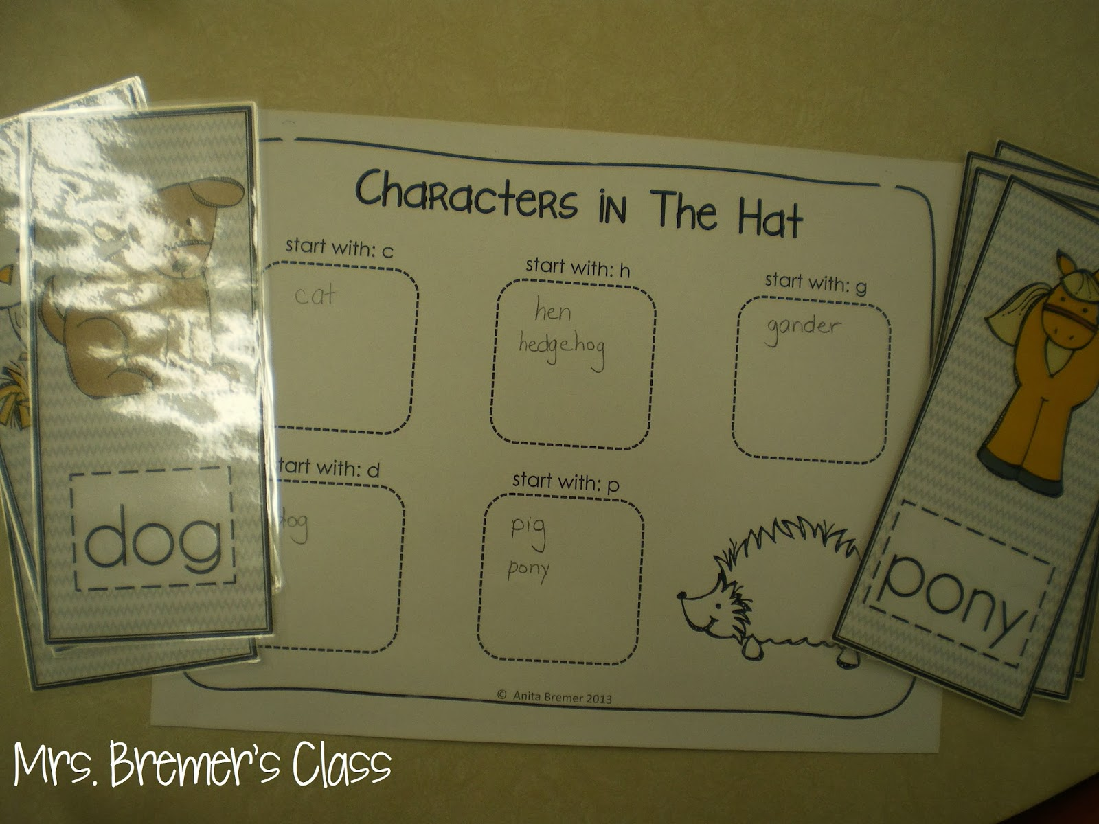 The Hat literacy activities