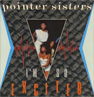 Pointer Sisters - I'm So Excited okładka singla