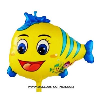 Balon Foil Nemo Kecil Kuning