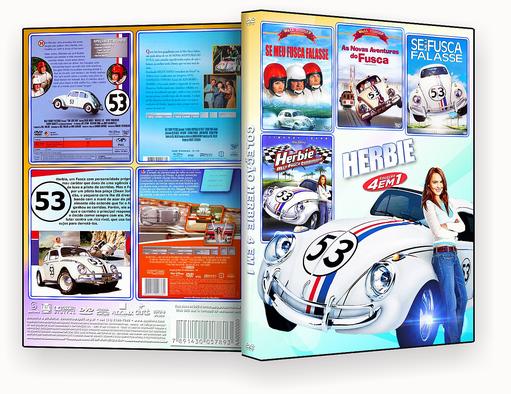 Coleção Herbie 4 em 1 – ISO – CAPA DVD