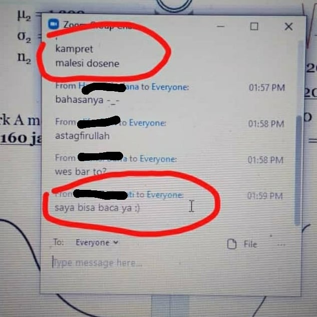 10 Chat Lucu 'Info Dosen' Ini Kocaknya Bikin Ngakak Mahasiswa