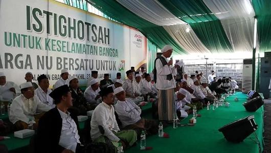 50 Kiai Serukan Warga NU Pilih Jokowi Demi Sunnah Wal Jamaah