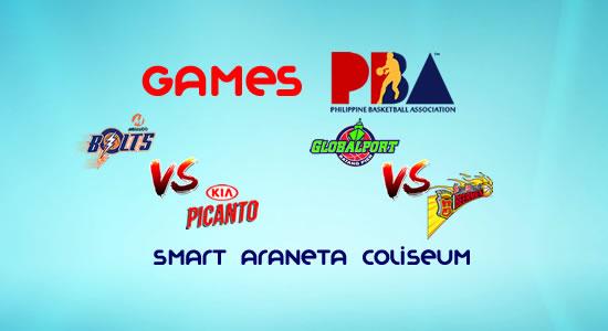 List of PBA Games: January 24 at Smart Araneta Coliseum 2017-2018 PBA Philippine Cup