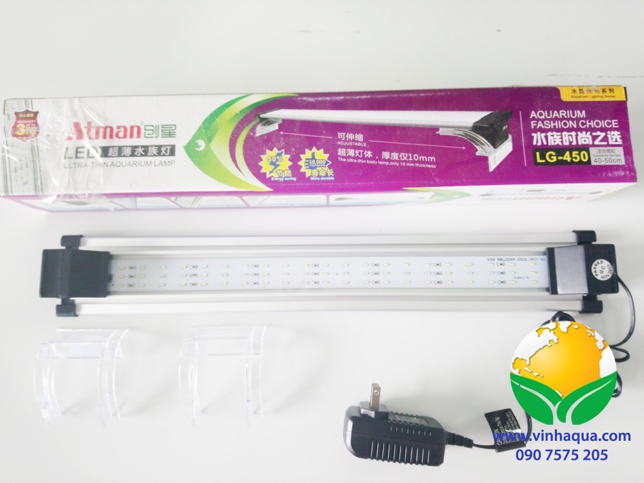 Đèn led thủy sinh Atman LG450