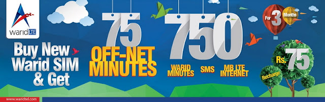Warid Launches New Prepaid Offer