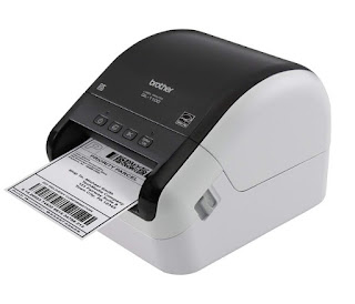 is a rapid score printer designed to impress upwardly to  Brother QL-1100 Drivers Download, Review And Price