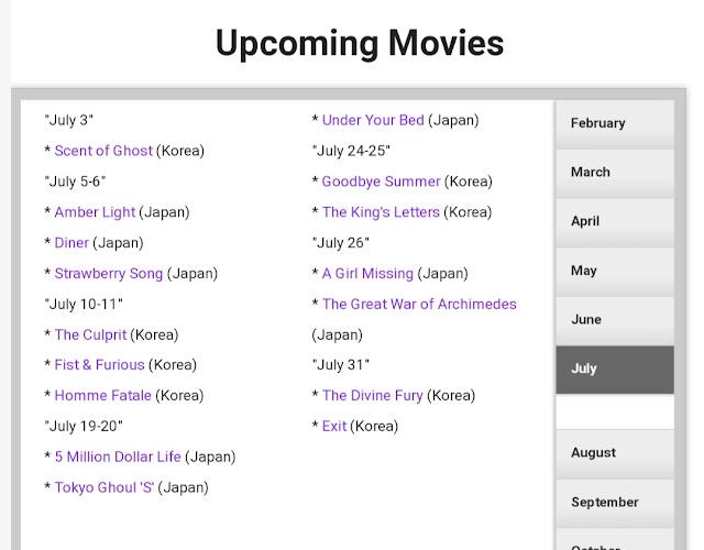 Cara Mengetahui Update Drama Korea Hari apa dan Tanggal di Website Official