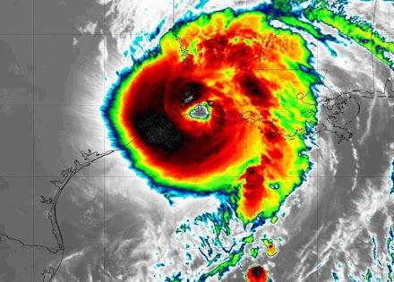 Δείτε live τον τυφώνα Laura να χτυπά την Λουιζιάνα