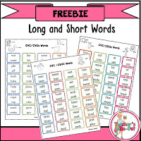 Free Long and Short Words to Read