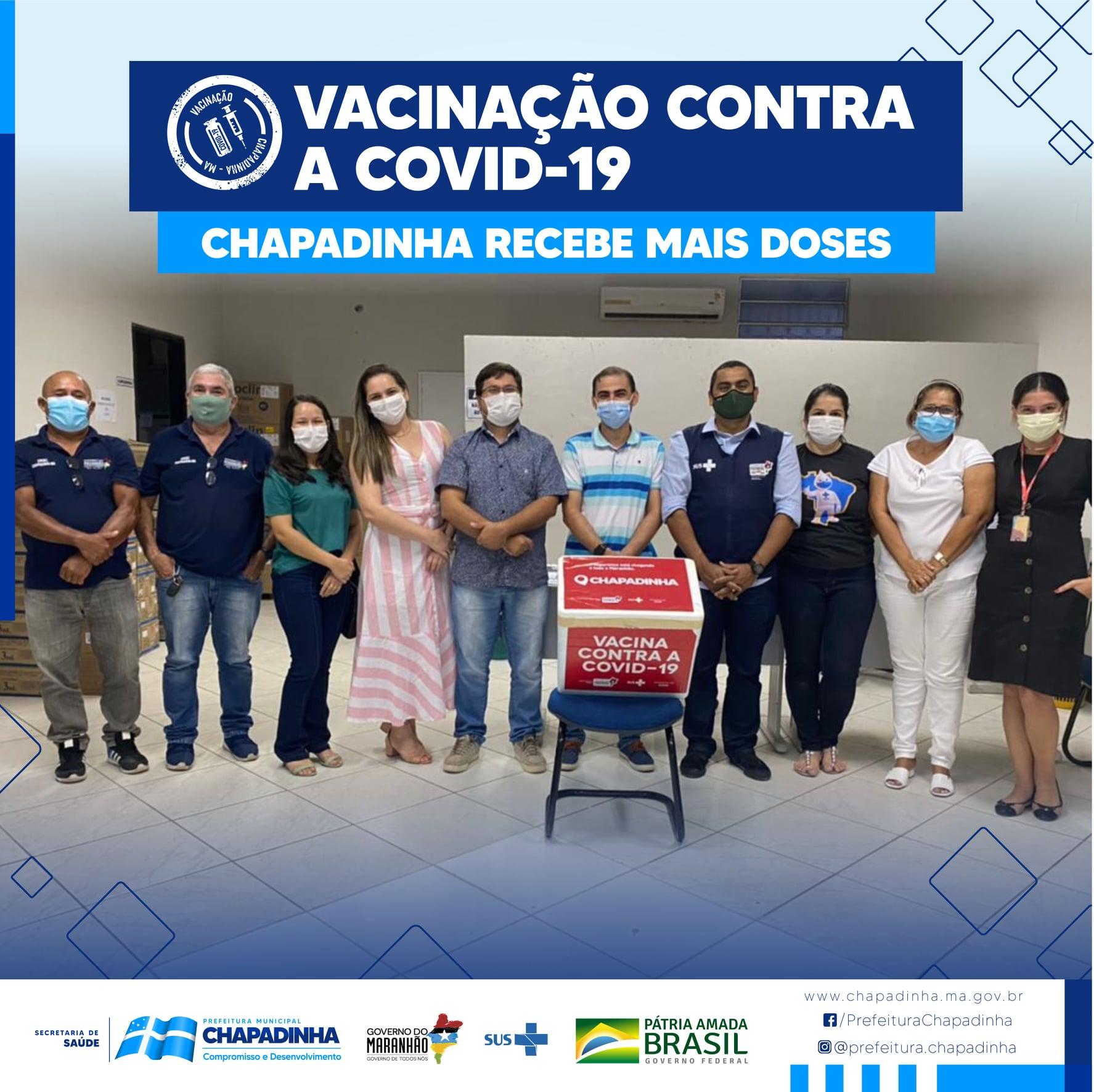 CHAPADINHA | Município bate recorde de vacinação contra a Covid-19