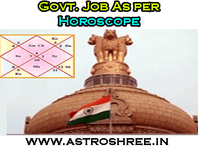 astrology tips for government job by astrologer