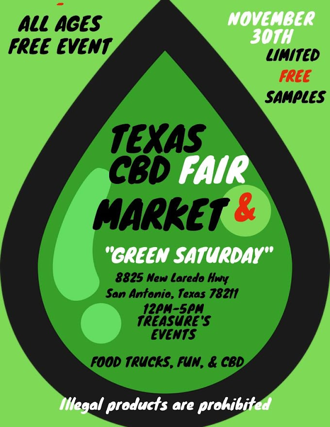 Texas CBD Fair at Home, November 30th in San Antonio