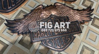 Logo Harley Burung Tembaga