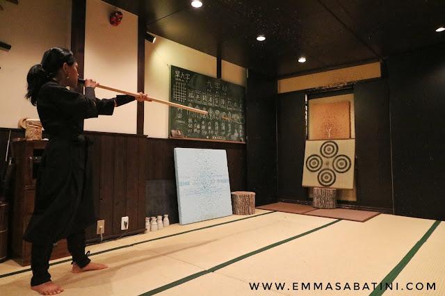 Ninja Experience in Kyoto Japan
