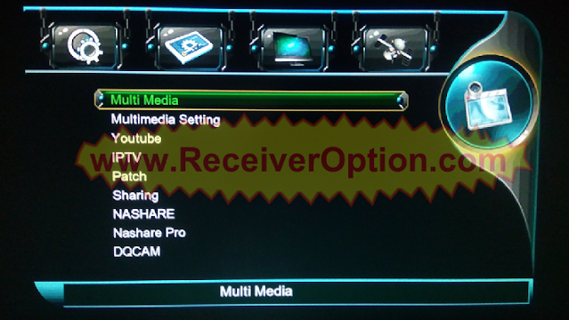 1506TV 512 4M NEW SOFTWARE WITH ECAST & APPLE IPTV OPTION