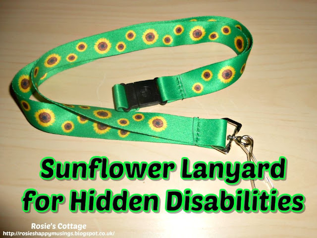 The sunflower lanyard scheme is a wonderful new resource to help those with hidden disabilities.