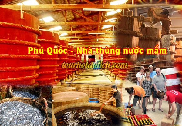Tìm hiểu cách chế biến nước mắm Phú Quốc cá cơm