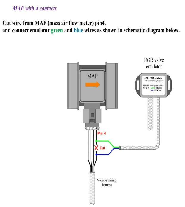 Mercedes Benz Diesel Cdi Egr Emulator Circuit Diagrams