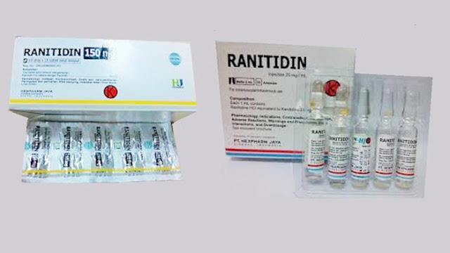 Ranitidin, Obat Maag yang dianggap Masalah