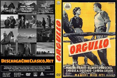Orgullo 1955 - Carátula dvd