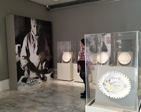 El Museo de Bellas Artes de València prorroga la exposición 'Picasso-Cela: dibujos, escritos y cerámicas. Colección Gabarrón'