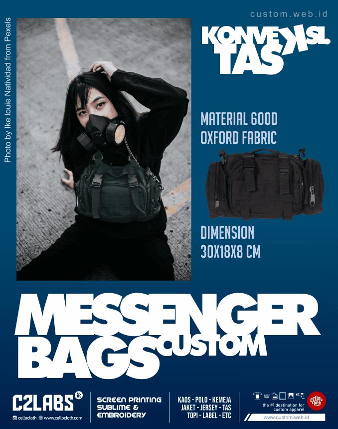 Messenger Bag Custom Jogja - Konveksi Tas Yogyakarta
