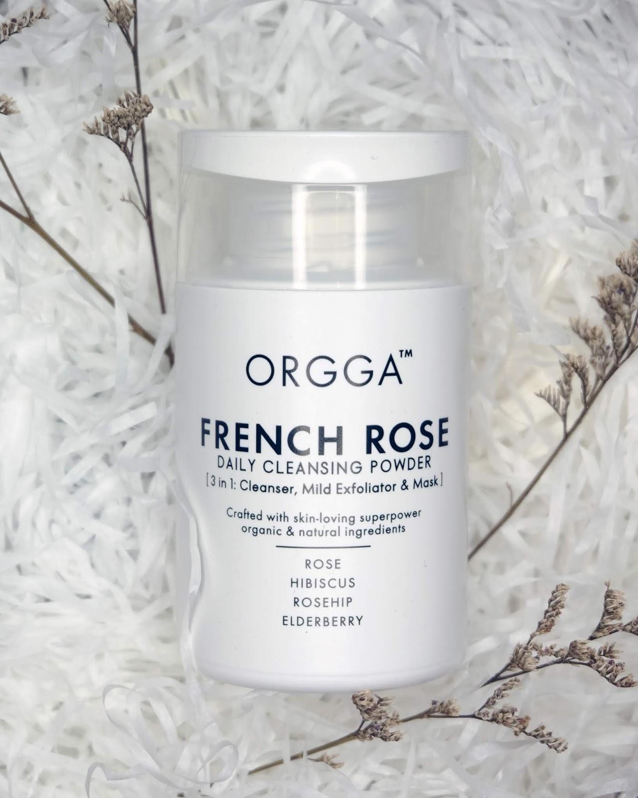 French Rose Daily Cleansing Powder Orgga Curitan Aqalili