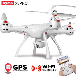 Syma X8PRO RC Quadcopter Wifi 720p FPV GPS Auto Return