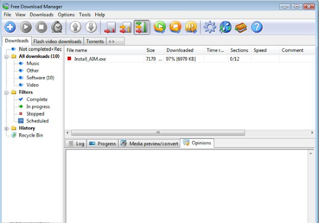 تحميل برنامج تحميل الملفات مجانا للكمبيوتر Free Download Manager