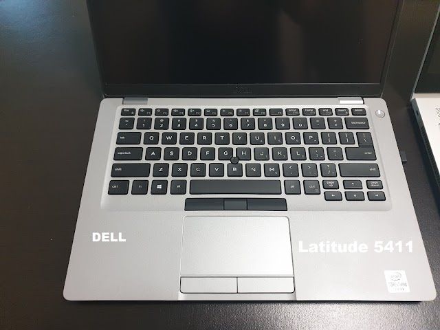 Dell Latitude 5411 keyboard and touchpad - our opinion