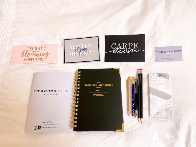 Master Mindset Diary starter kit