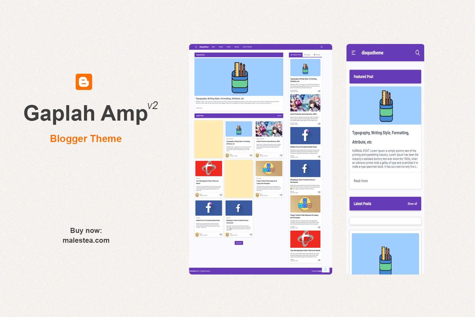 Gapleh Amp Theme Documentation