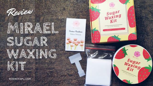 Mirael Sugar Waxing Kit