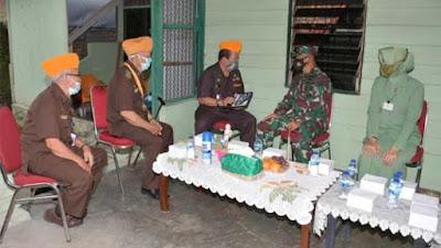 Pangdam dan Ketua Persit KCK Beri Hadiah HUT Kodam I/BB ke-71 kepada Veteran