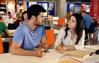 New Turkish series Sol Yanim - My Left Side couple Sera and Selim has become favourite of Young viewers.